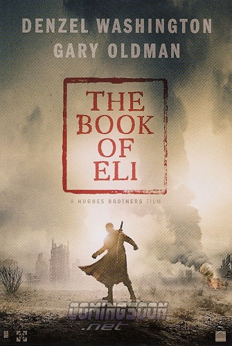 the book of eli teaser poster