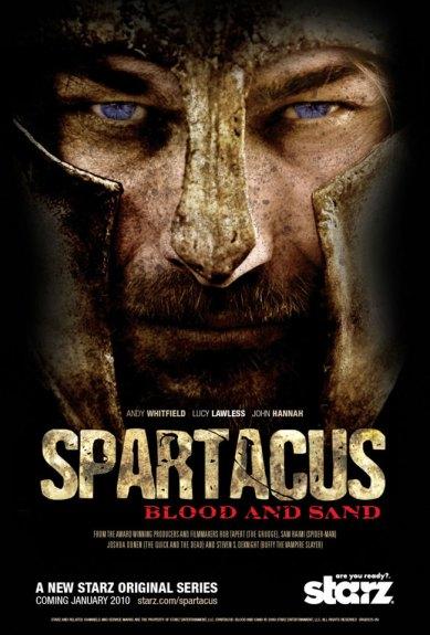 spartacus série poster