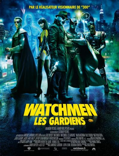 watchmen poster french